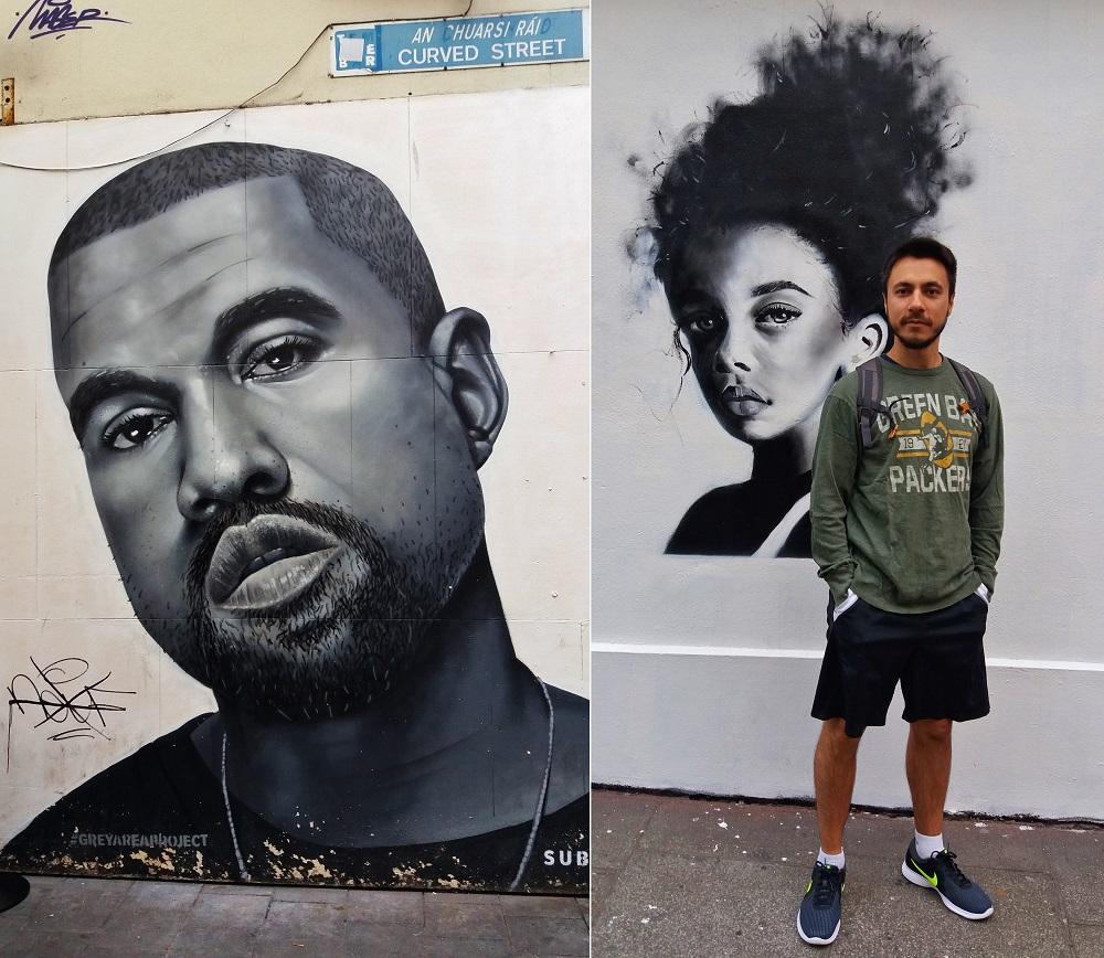 street art quartier temple bar à dublin