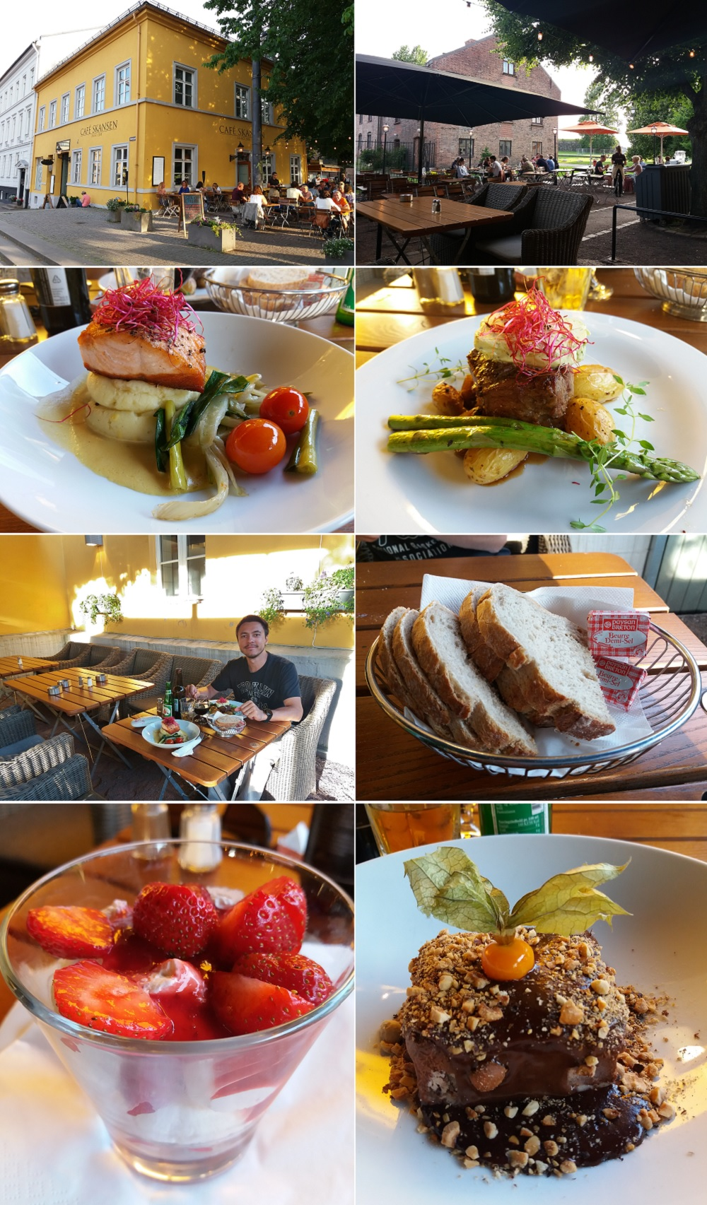 diner à Skansen Café à Oslo