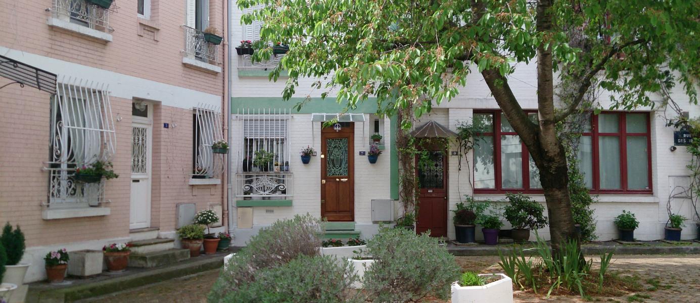 Cité florale Paris 13e