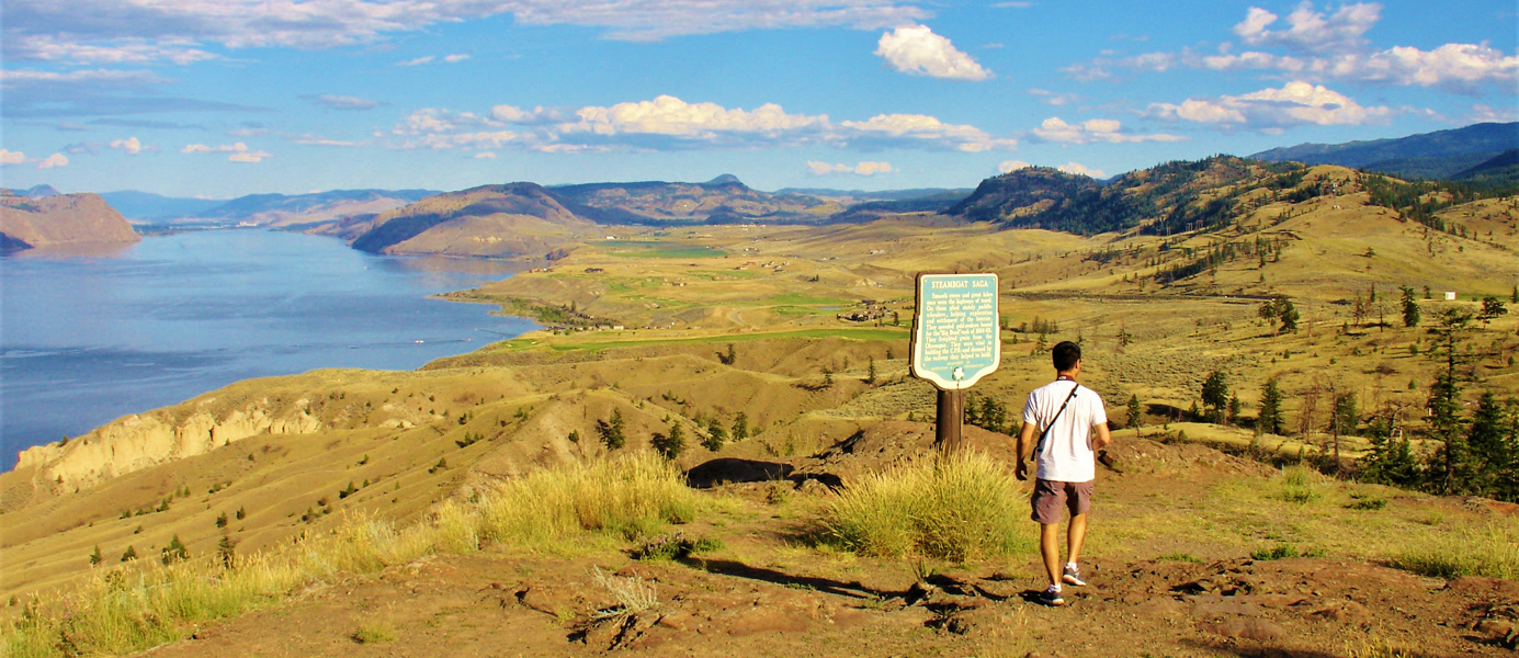 kamloops lake sur la transcanadienne