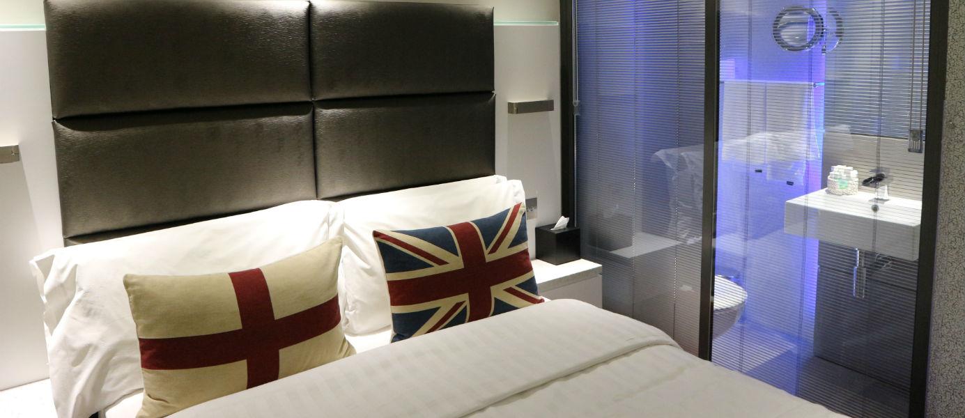 double deluxe room au henley house hotel de london