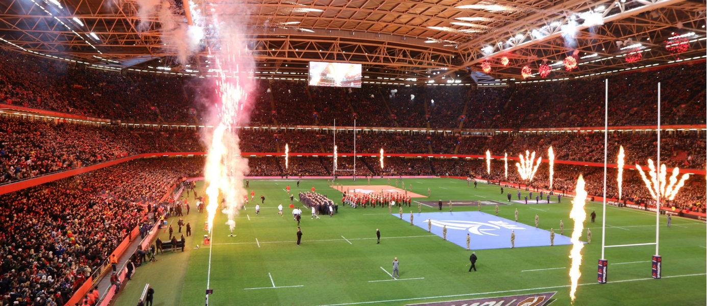 France - Pays de Galles au Principality Stadium Tournoi des six nations