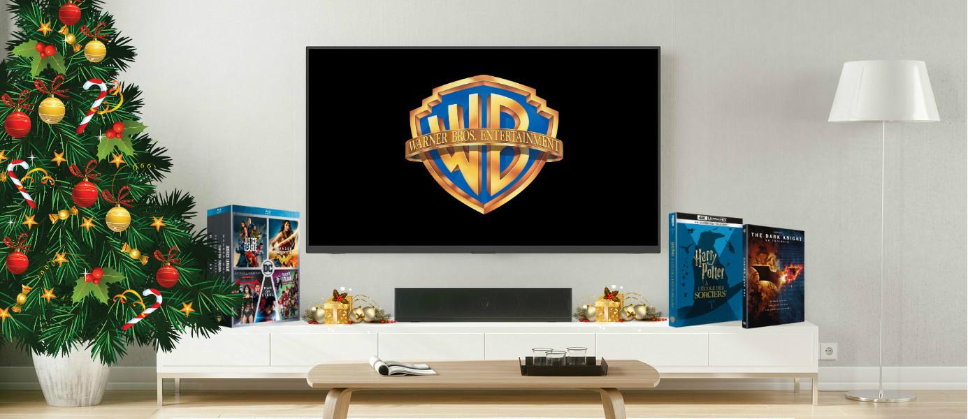 Les coffrets Warner pour Noël 2018